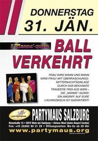 Ball Verkehrt@Partymaus