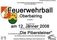 Ball der FF Oberbairing@Gasthof Strauss