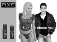 Gruppenavatar von Axe lässt Männer sauber und Mädchen schmutzig werden