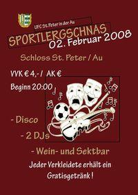 Sportlergschnas@Schloss St.Peter/Au