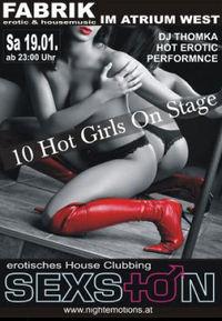 SEXtion Erotisches House Clubbing@Fabrik West