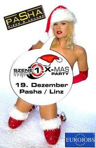 SZENE1 X-MAS PARTY@Disco Pasha / Infracenter