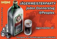 Jägermeisterparty@Peoples