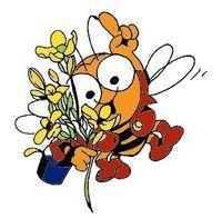 Soll das heißen, die Bienen ficken die Blumen ... ?