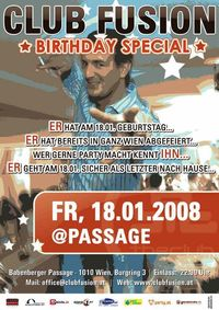 ClubFusion - A Special Night For A Special Person@Babenberger Passage
