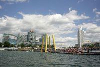 Vienna City Triathlon Halbdist.@Donauinsel