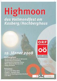 High Moon 2008@Kasberg