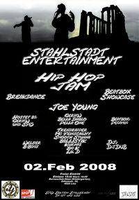 Stahlstadt Entertainment HIP HOP JAM@Bernaschek-Haus