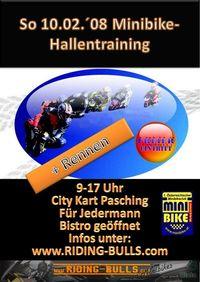 Minibike Hallentraining + 13 Uhr Cup@City Kart Pasching ehemals vmax