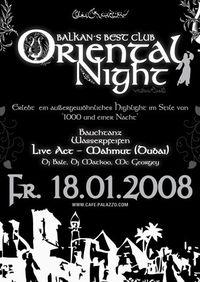 Oriental Night@Cafe Palazzo