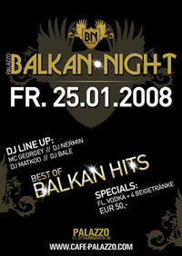 Balkan Night@Cafe Palazzo