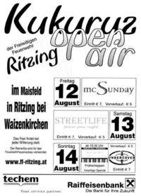 Kukuruzfest Ritzing@Festzelt