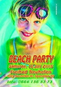 Beach Party@Freibad Neuhofen