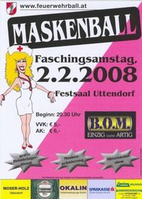 Maskenball 2008@Festsaal Uttendorf