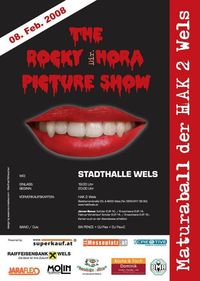 The Rocky HORA Picture Show - Maturaball HAK 2 Wels@Stadthalle Wels