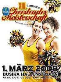 Chiquita Cheerleader Meisterschaften@Ferry Dusika Hallenstadion