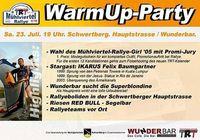 WarmUp-Party zur Mühlviertel-Rallye@Wunderbar