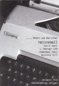 Maturaball der BAKIP Steyr@Stadtsaal Steyr