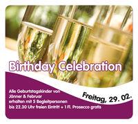 Birthday Celebration@Evers