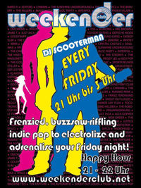 DJ Scooterman@Weekender Club
