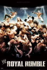 WWE Royal Rumble fan