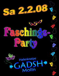 Faschingsparty@Gadsh