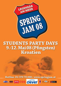 Spring Jam 2008 - Legendär am Meer@Valamar Apartments