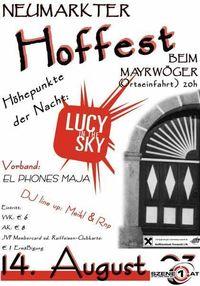Hoffest 2003@Mayrwöger (Ortseinfahrt)