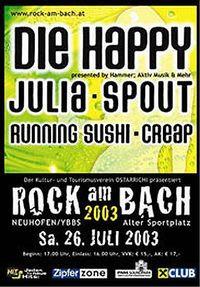 Rock am Bach 2003@Alter Sportplatz Neuhofen