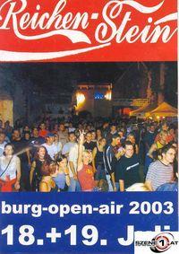 Burg-Open-Air Reichenstein@Burgruine Reichenstein