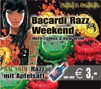Bacardi Razz Weekend@Amadeus