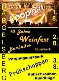 Weinfest Hargelsberg@Rübenplatz