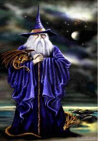 Wenn ich groß bin dann werd ich mal Zauberer!