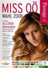 Miss OÖ Wahl 2008