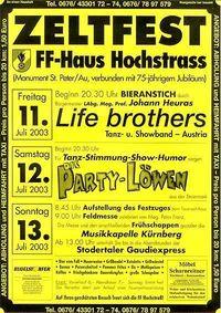Zeltfest der FF-Hochstrass@FF-Haus / Festzelt