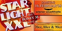 Starlight XXL mit Boney M. LIVE!@Wiener Stadthalle