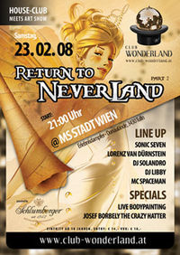 Club Wonderland pres. Return to Neverland