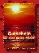 GUTSCHEIN FÜR EINE HEI$$E LIEBESNACHT