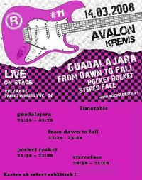 GUADALJARA @ Rockability 11@Avalon Exil