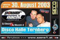 Power Nacht II@Disco Halle / Schwandau