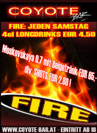 Fire@Coyote-Bar