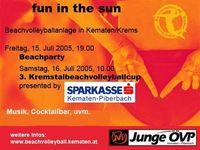 3. Kremstal-Beachvolleyballcup@Freizeitanlage