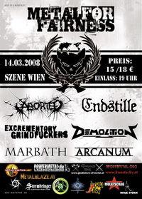 Metal for Fairness V@((szene)) Wien