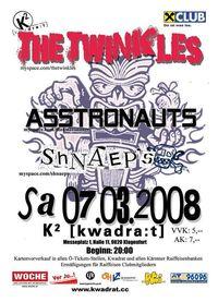 Shakadelic Club feat The Twinkles, Asstronauts,Shnaeps@[kwadra:t]