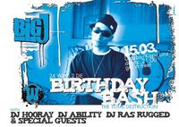 BIG J BIRTHDAY BASH@Druzba/Kapu