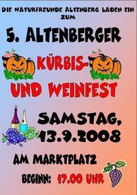 Kürbis und Weinfest 2008@Kürbis und Weinfest