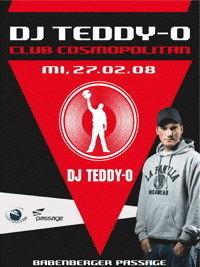 Club Cosmopolitan: DJ Teddy-O@Babenberger Passage