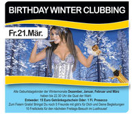 Birthday Winter Clubbing@Lusthouse Wörgl