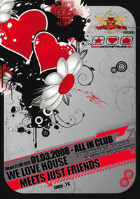 we love house  &  just friends@All iN