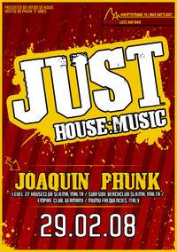 Just House:Music – Joaquin Phunk@Herbers: Lust.auf.Bar